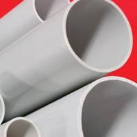 Труба ПВХ жесткая гладкая д.50мм, атмосферостойкая, 3м, серый цвет