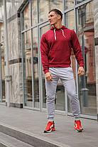 Модный молодёжный спортивный костюм двухцветный  S,M,L,XL , фото 2
