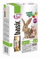 Овоще-фруктовый корм для хомяка и кролика LoLo Pets basic for Rabbit & Hamster