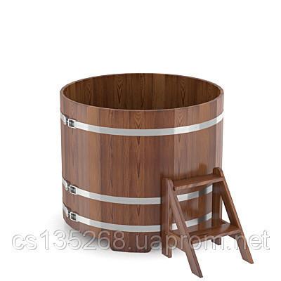 Купель Bentwood круглая диаметром 1500 мм лиственница мореная