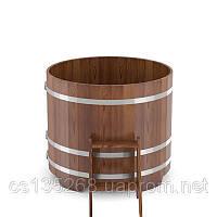 Купель Bentwood круглая диаметром 1500 мм лиственница мореная, фото 3