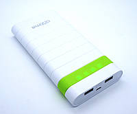 Дополнительная батарея Optima Promo Series OP-20 20000mAh (Out 10200mAh) White/Green