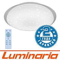 Потолочный светодиодный светильник LUMINARIA SATURN 60W R-555-SHINY-220V-IP44 с пультом ДУ