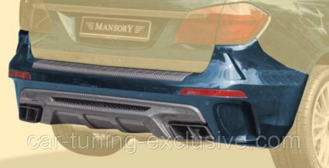 MANSORY rear bumper for Mercedes GL  X166