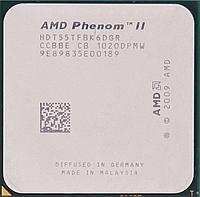 Процессор AMD Phenom II X6 1055T 2.8GHz/6MB/2000MHz (HDT55TFBK6DGR) sAM3, tray