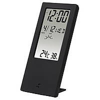 Термометр/гигрометр HAMA TH-140, с индикатором погоды