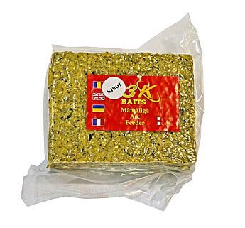 Прикормка 3-KBaits Мамалыга Макуха 500 грамм