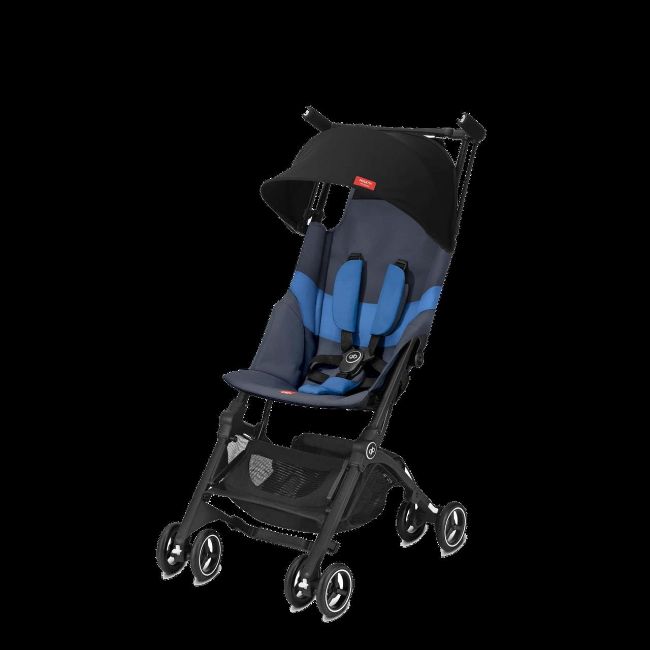 GB - Коляска Pockit+ All-Terrain, цвет Night Blue (2019 г)