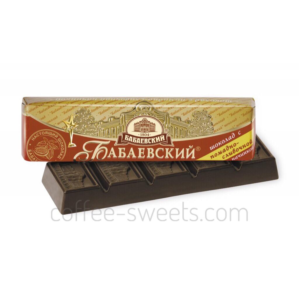 Батончик Бабаевский 50г с помадно-сливочной начинкой