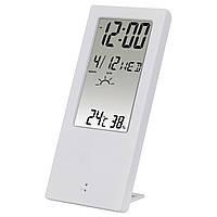 Термометр/гигрометр HAMA TH-140, с индикатором погоды Білий