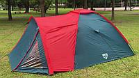 Палатка, трёх, местная, двух, слойная,с, тамбуром, качественная, надёжная, водостойкая