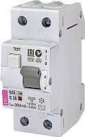 Дифференциальный автоматический выключатель KZS-2M C 10/0,3 тип AC (10kA) 2173322 ETI, фото 1