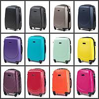 Дорожный чемодан на колесах WINGS 0912 поликарбонат Мини