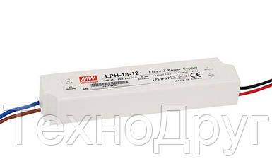 Блок питания импульсный Mean Well 18W 12V (IP67,1,5A) PRO