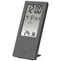 Термометр/гигрометр HAMA TH-140, с индикатором погоды Сірий