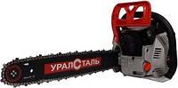 БЕНЗОПИЛА УРАЛСТАЛЬ УБП-6300  2 шины , 2 цепи для твердых пород !