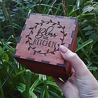 Коробка деревянная 10на10см