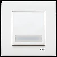 Кнопка звонка с подсветкой и полем для надписи Karre Viko