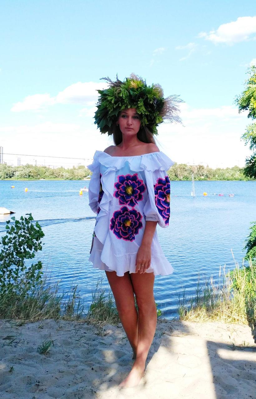 Сукня жіноча , батист, білий колір