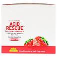 """Карбонат кальция Country Life, Acid Rescue """"Calcium Carbonate"""" ягодный вкус, 1000 мг (20 пакетиков по 4 табл), фото 3"""