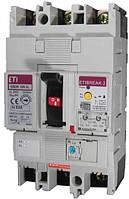 Автоматический выключатель со встроенным блоком УЗО EB2R 125/4L 100А 4Р, 4671511, ETI