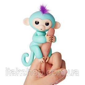 Интерактивная ручная обезьянка Зои - Zoe Fingerlings Interactive Baby Monkey WowWee