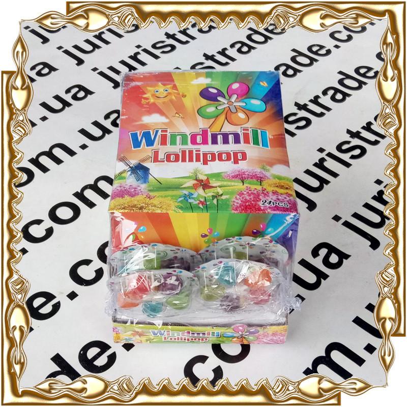 Карамель-Млин Windmill Lollipop 20 гр. 24 шт./уп.