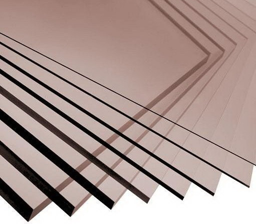Монолитный поликарбонат Soton Solid бронза 3 мм  лист (2050*3050 мм2)