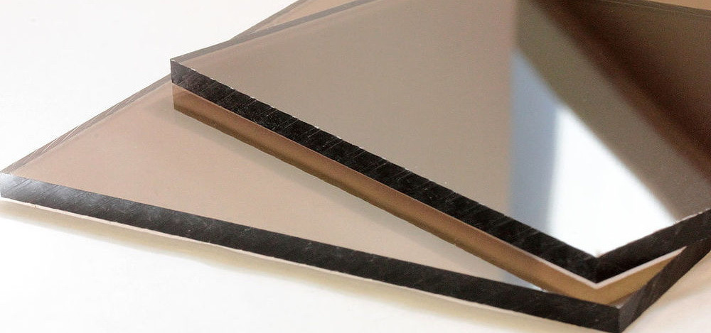 Монолитный поликарбонат Soton Solid бронза 4 мм  лист  (2050*3050 мм2)