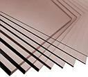 Монолитный поликарбонат Soton Solid бронза 4 мм  лист  (2050*3050 мм2), фото 2