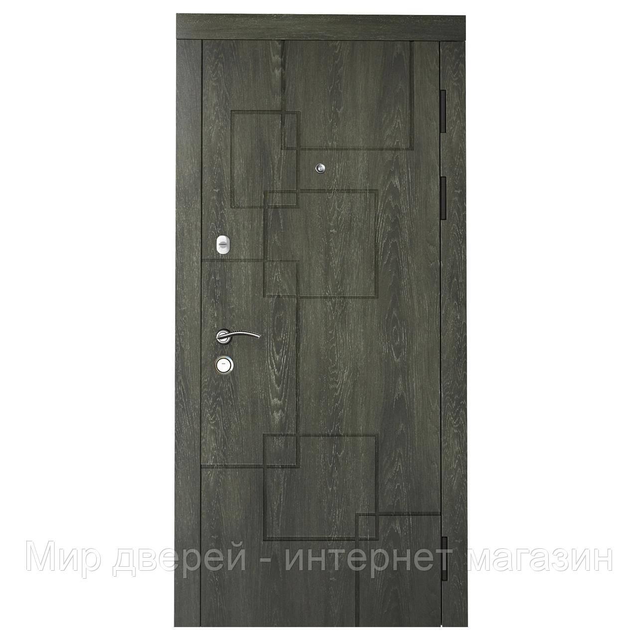 Двери входные KASKAD MODERN Квадро Стандарт 80