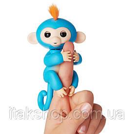 Интерактивная ручная обезьянка Борис - Fingerlings Interactive Baby Monkey Boris WowWee