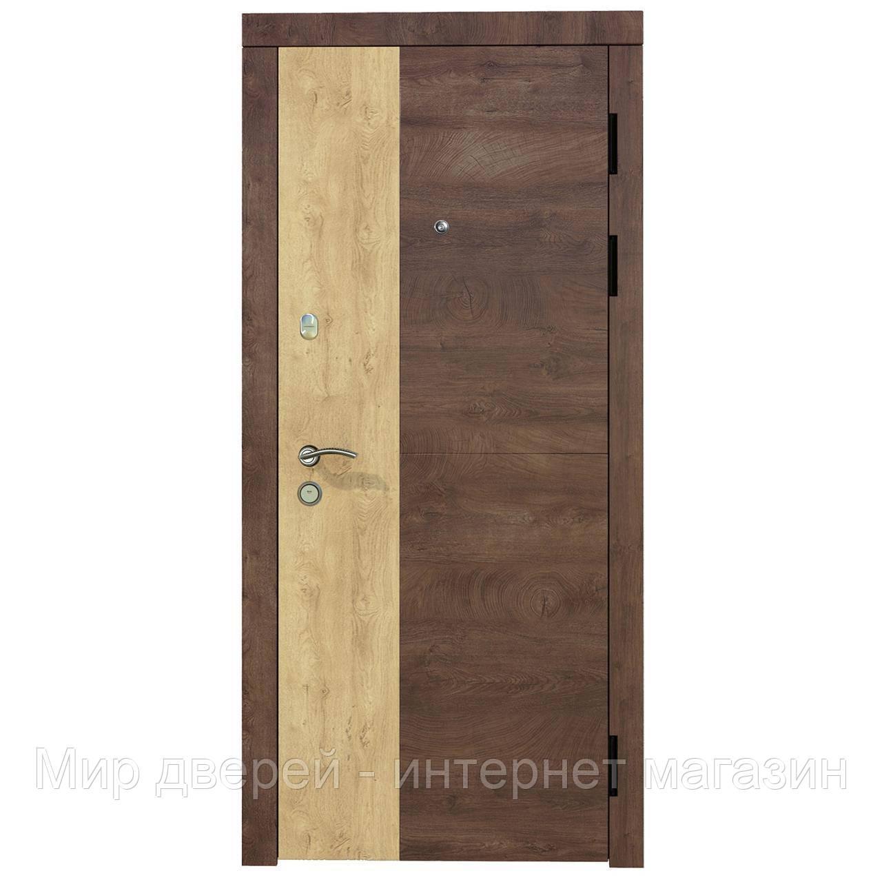 Двери входные KASKAD COMBO Соната Комфорт
