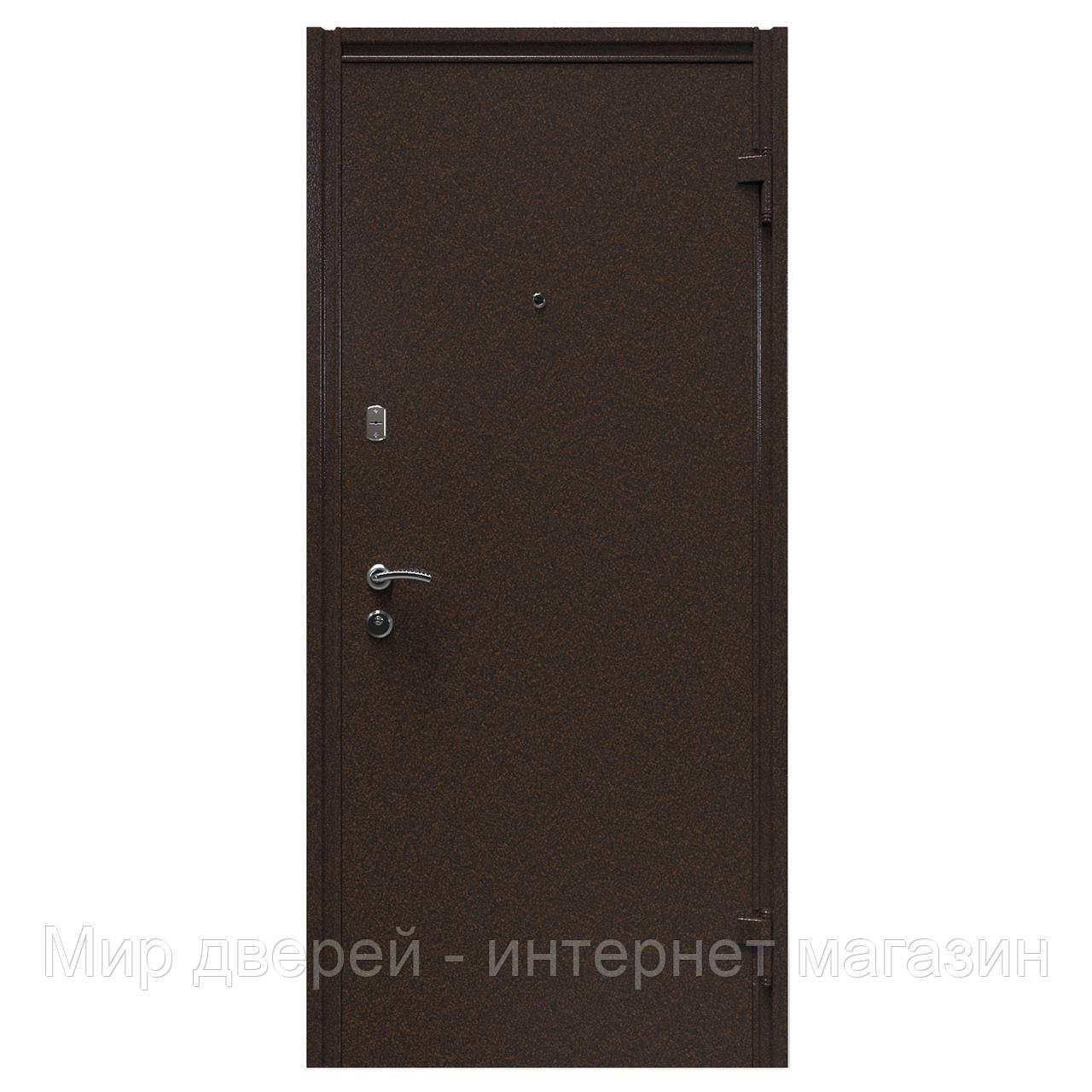 Двери входные KASKAD Молоток / МДФ Глухая