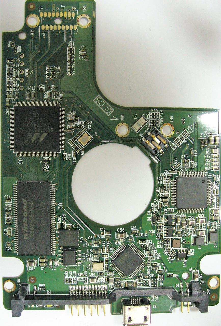 Плата HDD 500GB 5400rpm 32MB USB 2.0 2.5 WD WD5000BMVV-11SXZS1 2060-771754-000