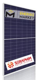 Поликристаллическая солнечная панель Seraphim Solar Blade SRP-280-BPB (280 Вт, half-cell)