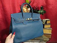 Женская кожаная сумка Биркин35 см  шикарная  Original quality