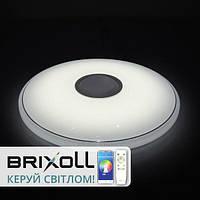 Світлодіодний світильник з пультом Brixoll Rainbow Musik BRX-40W-025