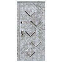 Двери входные KASKAD PIRAMIDA Рубин Стандарт 80