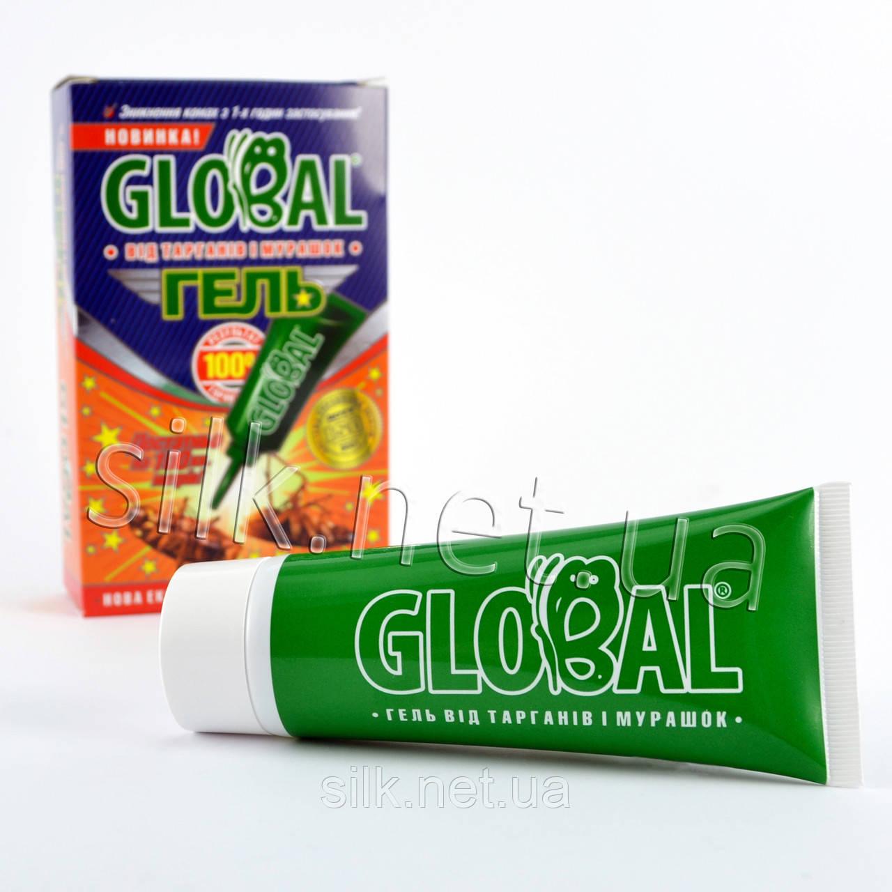 """Гель від тарганів та мурах """"Global"""" в тубі 100г"""
