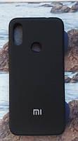 Чехол Silicone Cover Xiaomi Redmi Note 7 (Black)