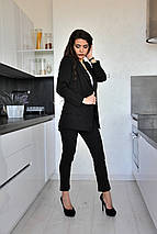 Женский костюм двойка пиджак и брюки sh-006 (42-52р, разные цвета), фото 3