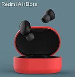 Силиконовый оригинал чехол на кейс для Xiaomi Redmi Airdots / Ультратонкий Soft-touch /, фото 3