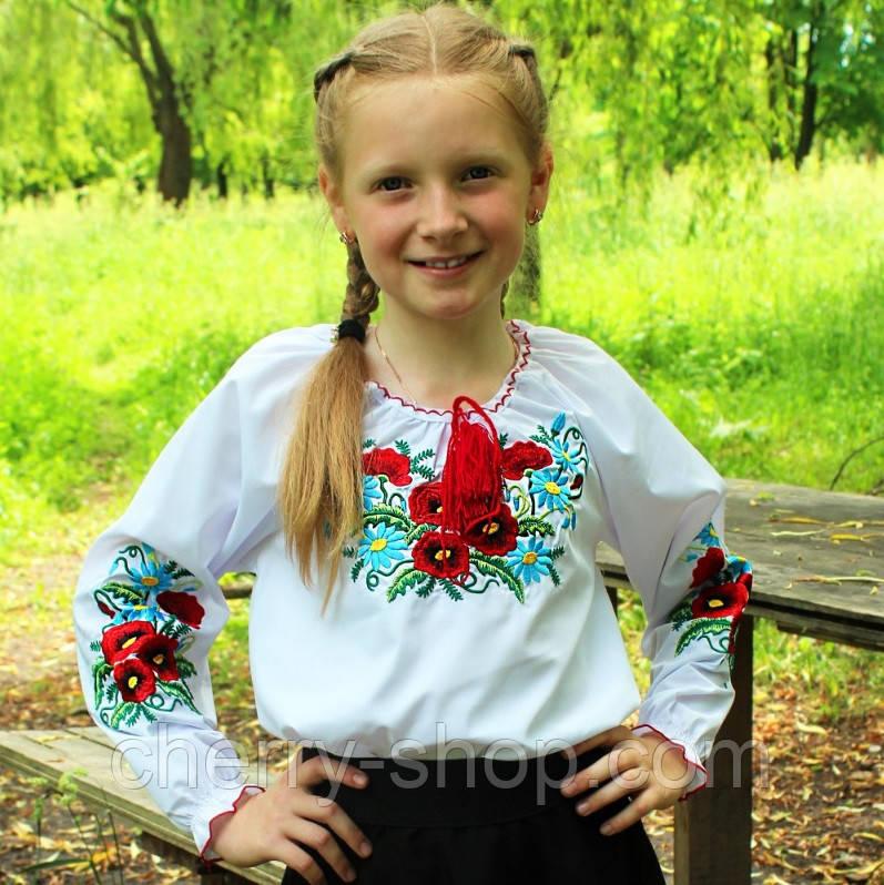 Детская вышитая блуза , производство Украина