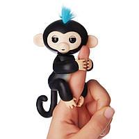 Интерактивная ручная обезьянка Финн - Finn Fingerlings Interactive Baby Monkey WowWee