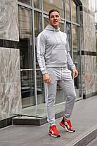 Стильный молодёжный спортивный костюм с лампасами - цвета комбинаций на выбор  S,M,L,XL , фото 3