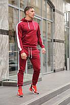 Стильный молодёжный спортивный костюм с лампасами - цвета комбинаций на выбор  S,M,L,XL , фото 2