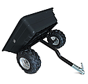 Прицеп для квадроцикла Shark ATV Trailer Garden 300kg (Black), фото 5