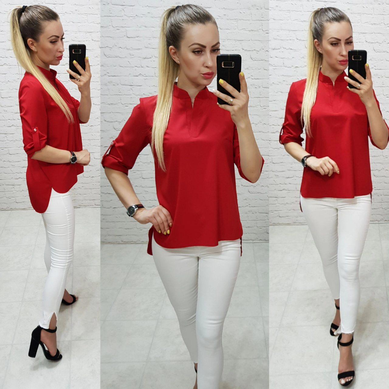 Блузка женская, модель 749, красный