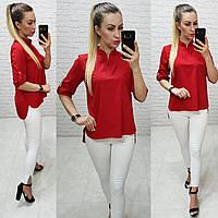 Блузка женская, модель 749, красный, фото 1